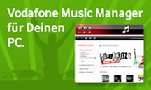 Vodafone Music Manager